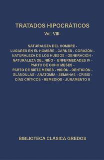 307. Tratados hipocráticos. Vol. VIII