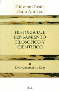 Historia del pensamiento filosófico y científico II