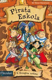 Pirata eskola. Erregina urdina