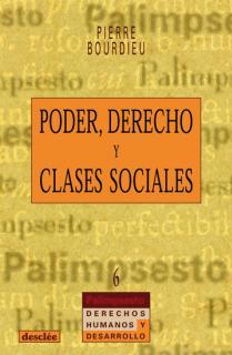 Poder, derecho y clases sociales