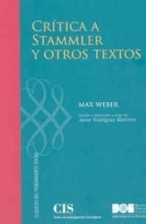 Crítica a Stammler y otros textos