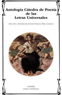 Antología Cátedra de Poesía de las Letras Universales