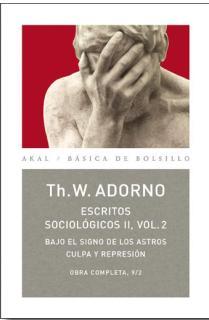 O.C.ADORNO LOTE ESTUDIOS SOCIOLOGICOS