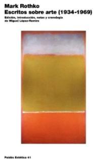 Escritos sobre arte (1934-1969)