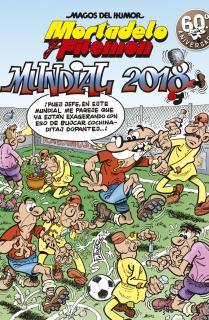 Mortadelo y Filemón. Mundial 2018 (Magos del Humor 188)