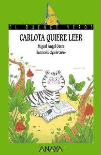 Carlota quiere leer