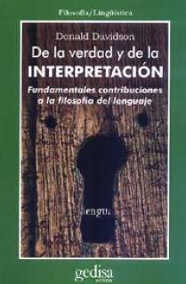 De la verdad y de la interpretación