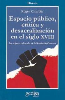 Espacio público, crítica y desacralización