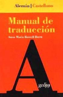 Manual de traducción Alemán-Castellano