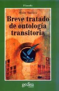Breve tratado de ontología transitoria