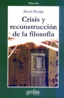 Crisis y reconstrucción de la filosofía