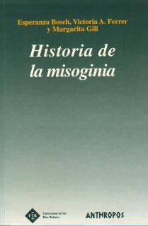 Historia de la misoginia