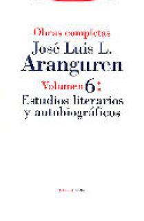 Estudios literarios y autobiográficos