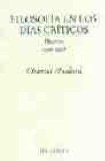 Filosofía en los días críticos. Diarios 1996 - 1998