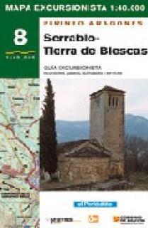 MAPA EXCURSIONISTA SERRABLO-TIERRA DE BIESCAS