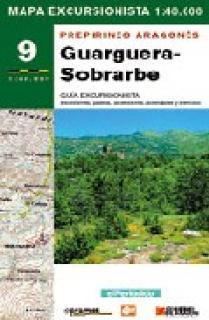 MAPA EXCURSIONISTA GUARGUERA-SOBRARBE