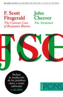 "Colección Read & Listen - F. Scott Fitzgerald ""The curious case of Benjamin Button""/ John Cheever ""The swimmer"" Libro + mp3"