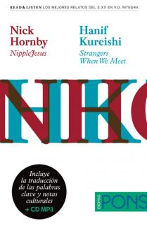 "Colección Read & Listen - Nick Hornby ""NippleJesus""/Hanif Kureishi ""Strangers When We Meet"" + mp3"