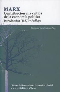 Contribución a la crítica de la economía política