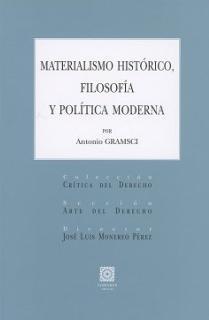 MATERIALISMO HISTORICO FILOSOFIA Y POLITICA MODERNA