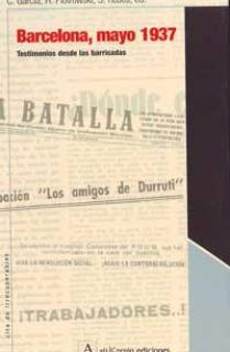 BARCELONA MAYO DE 1937