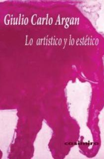 LO ARTÍSTICO Y LO ESTÉTICO