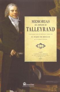 MEMORIAS DEL PRÍNCIPE DE TALLEYRAND
