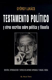 Testamento político y otros escritos sobre política y filosofía