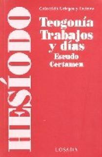 TEOGONIA, TRABAJOS Y DIAS - ESCU