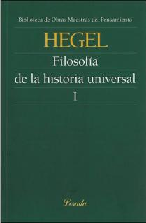 FILOSOFÍA DE LA HISTORIA UNIVERSAL I