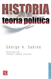HISTORIA DE LA TEORÍA POLÍTICA