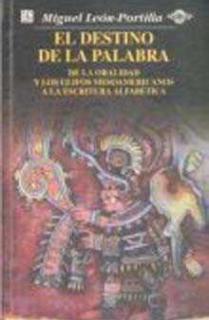DESTINO DE LA PALABRA,EL