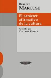 EL CARÁCTER AFIRMATIVO DE LA CULTURA