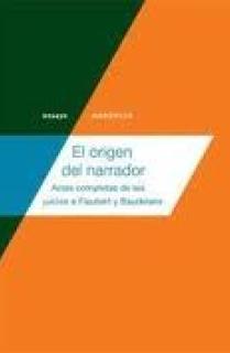 EL ORIGEN DEL NARRADOR