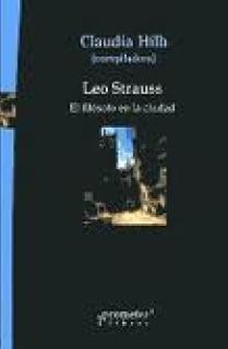 LEO STRAUS. EL FILÓSOFO EN LA CIUDAD