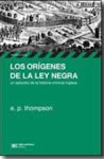LOS ORIGENES DE LA LEY NEGRA