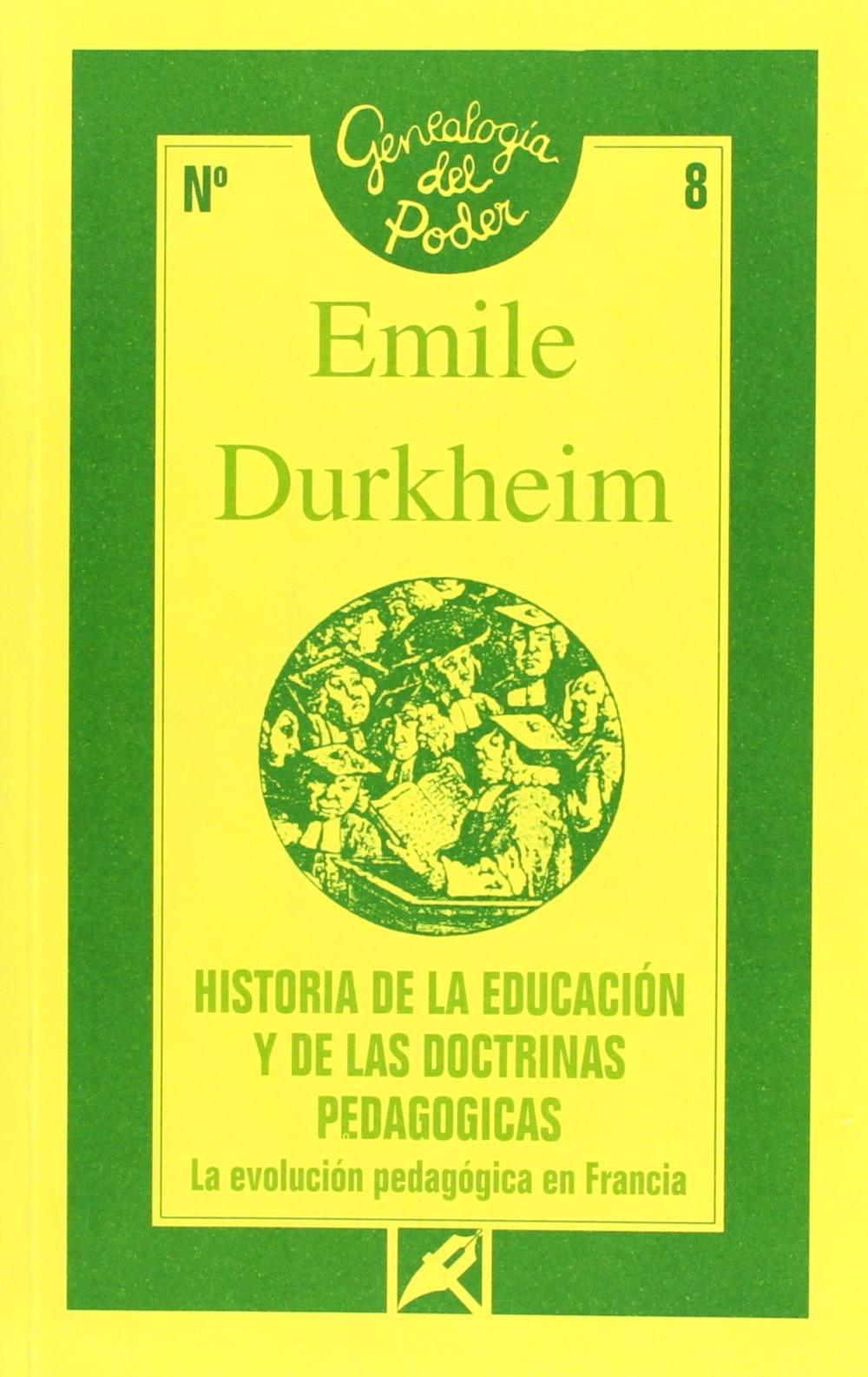 HISTORIA DE LA EDUCACION Y DE LAS DOCTRINAS PEDAGOGICAS