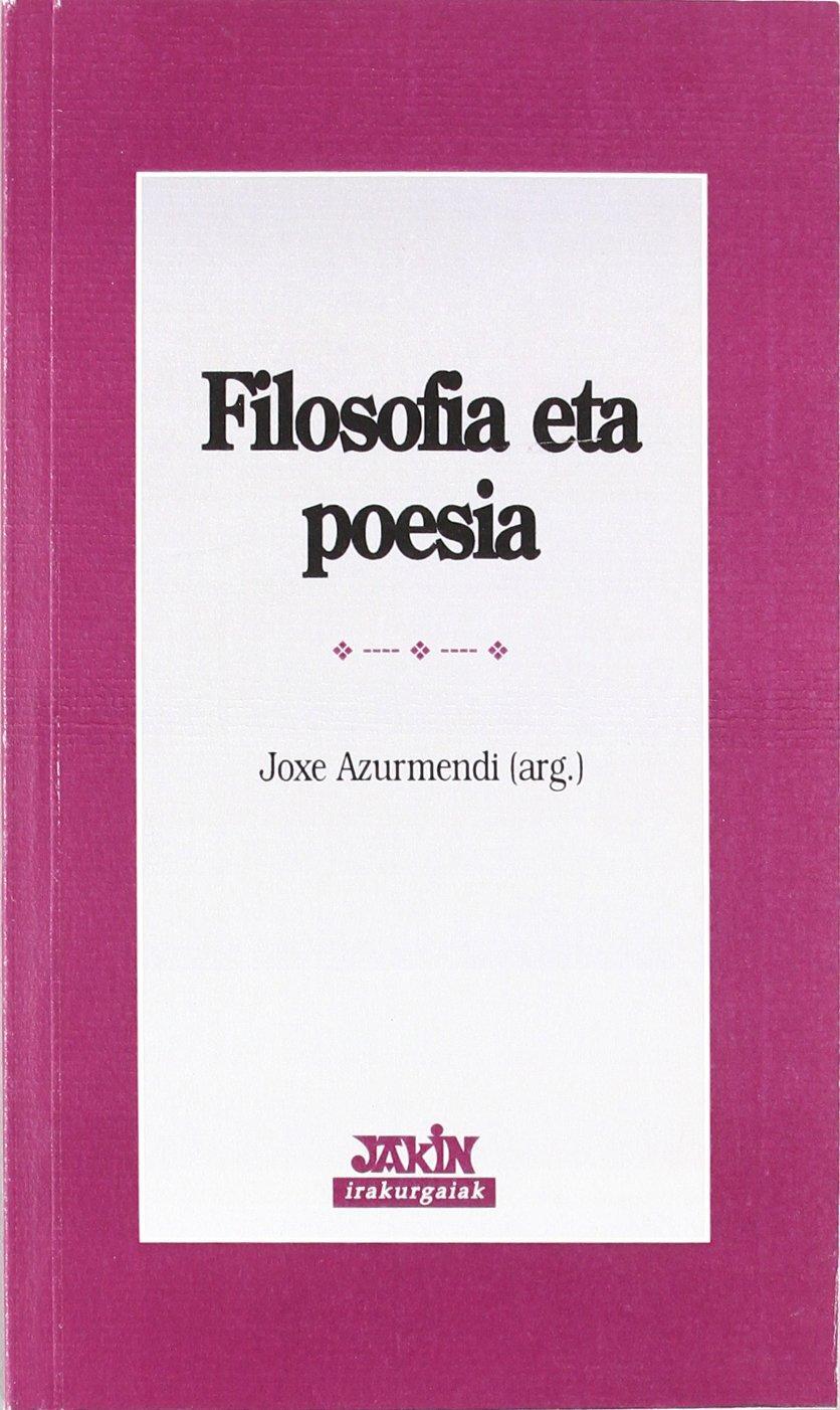 FILOSOFIA ETA POESIA