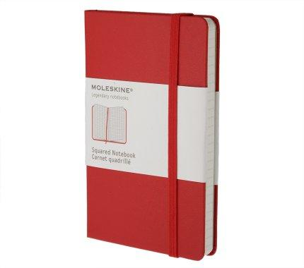 SQUARED CLASSIC RED NOTEBOOK P ROJO CUADERNO CUADR