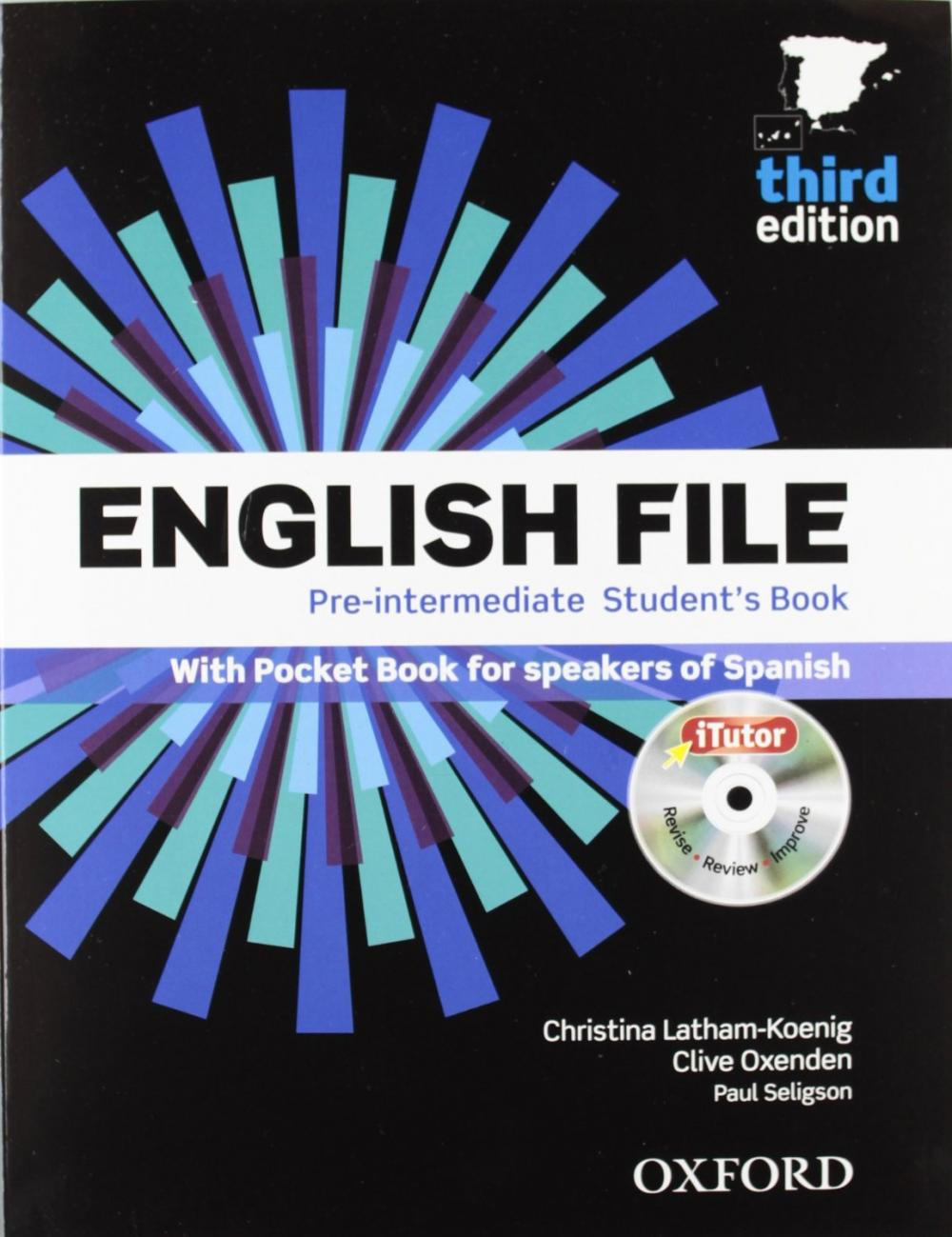 English File Pre-intermediate: Student's Book+Workbook with Key Pack 3ED