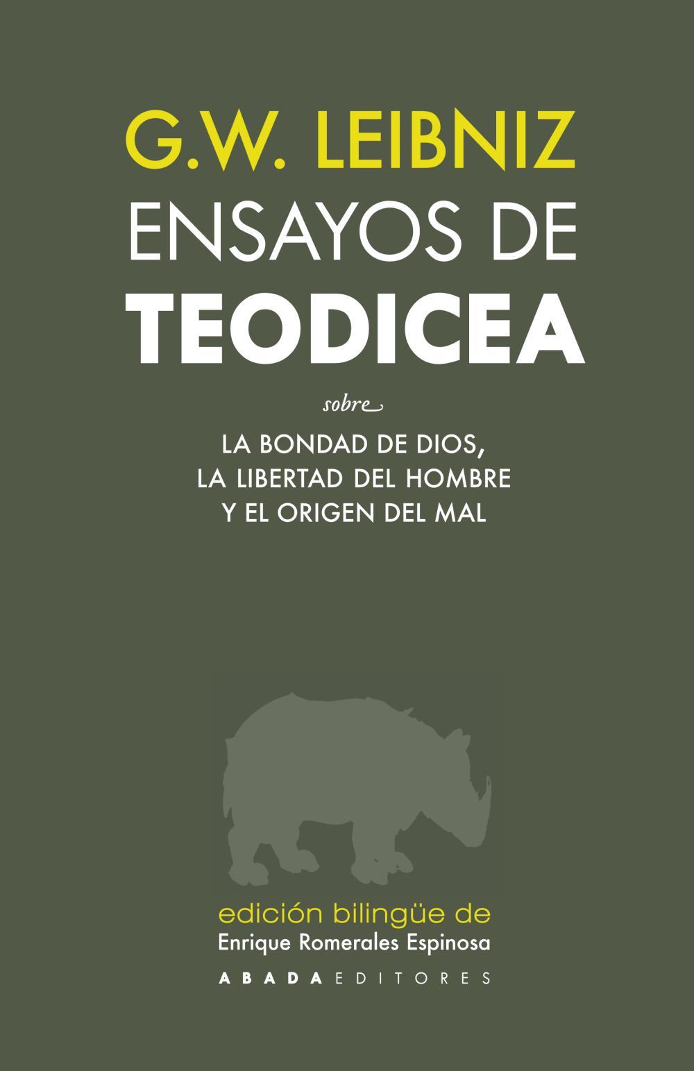Ensayos de Teodicea
