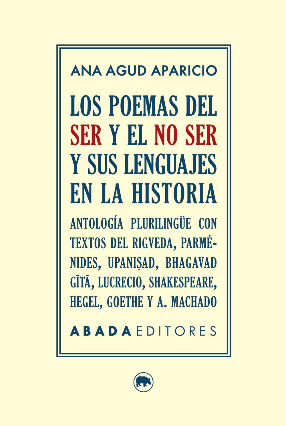 Los poemas del ser y el no ser y sus lenguajes en la historia