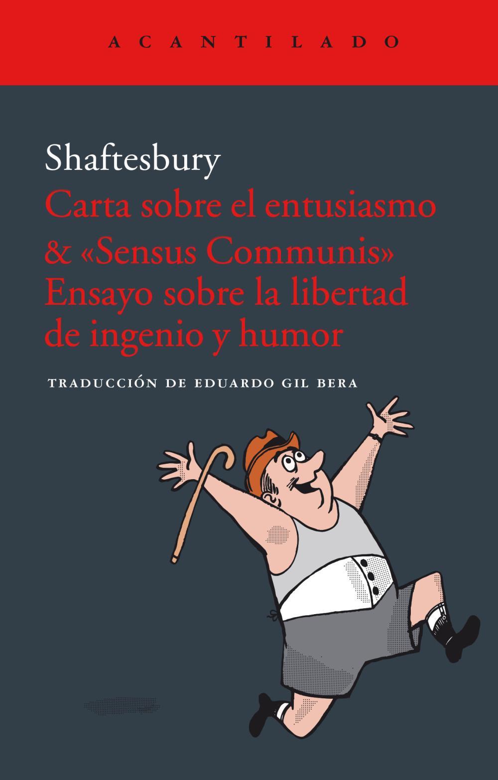 Carta sobre el entusiasmo & «Sensus communis».