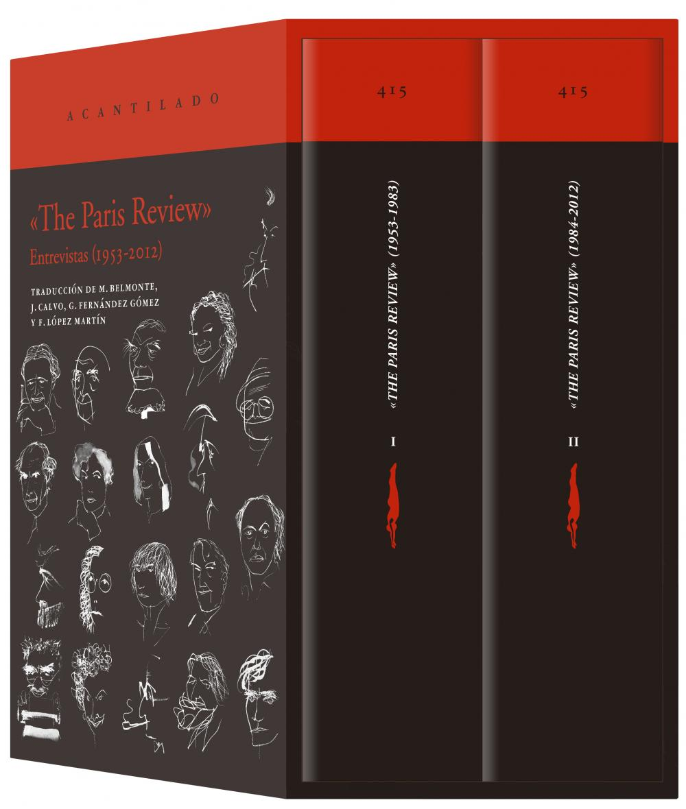 «The Paris Review» (estuche con dos volúmenes)