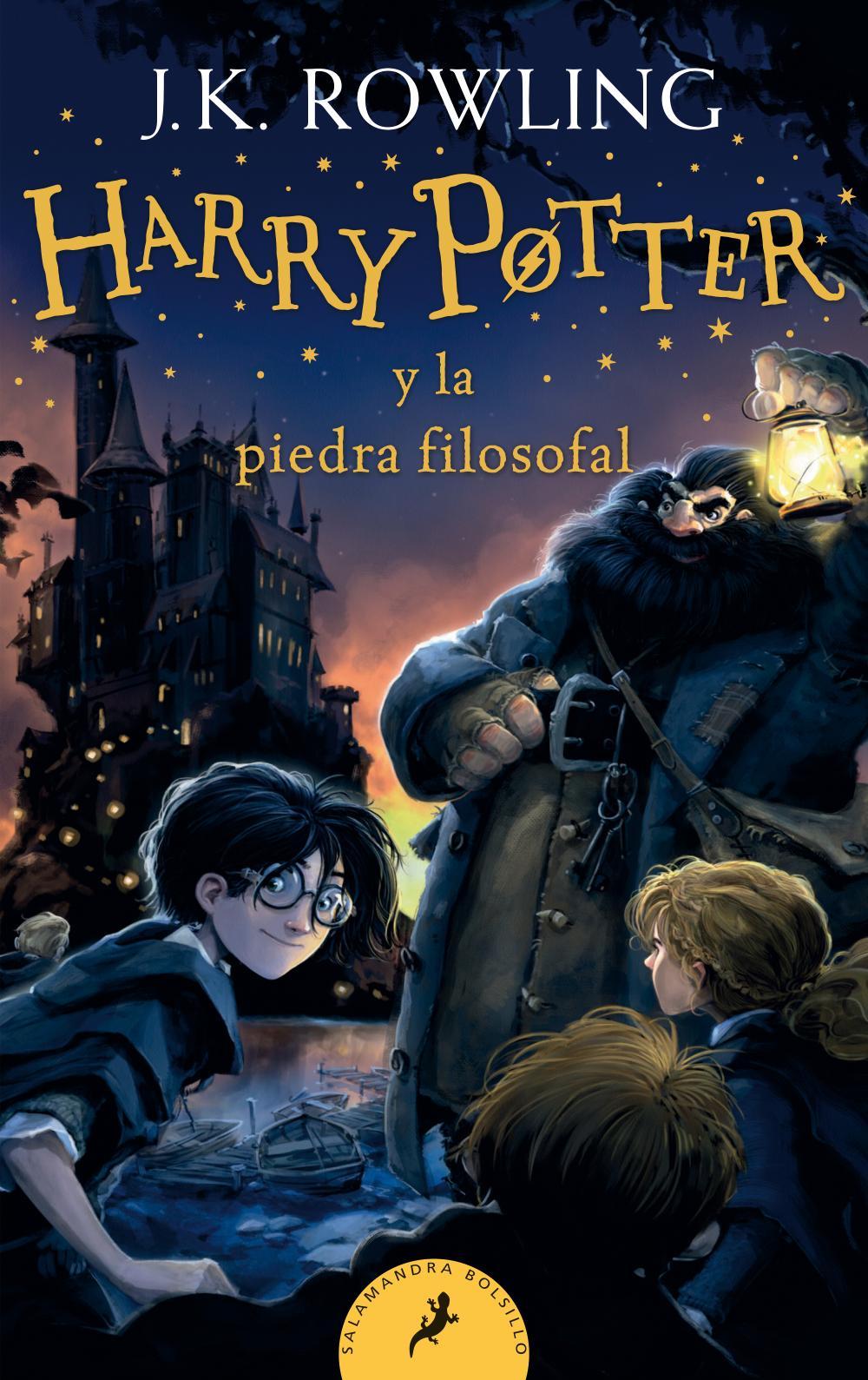 Harry Potter y la piedra filosofal (Harry Potter 1)