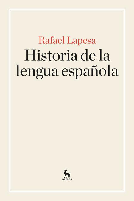 Historia de la lengua española