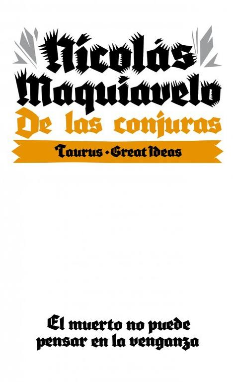 De las conjuras (Serie Great Ideas 10)