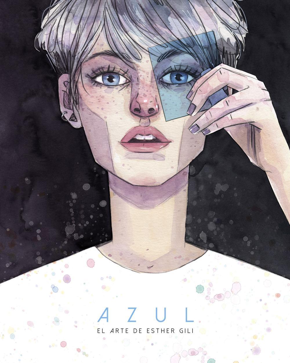 AZUL EL ARTE DE ESTHER GILI