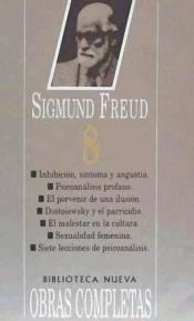 Freud - Obras Completas (VIII) (edición en rústica)