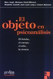 El objeto en psicoanálisis